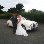 Mk 2 jaguar wedding car
