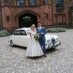 Mk2 jaguar wedding car