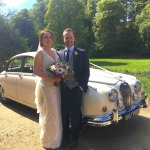 mk2 jaguar wedding car